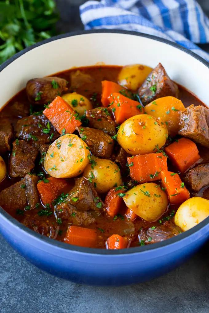 Irish Stew Recipe Beef Stew Stew Soup Beef Carrots Potatoes Beer Stpatricksday Dinner Dinneratthezoo Irish Stew Recipe Beef Stew Recipe Irish Stew