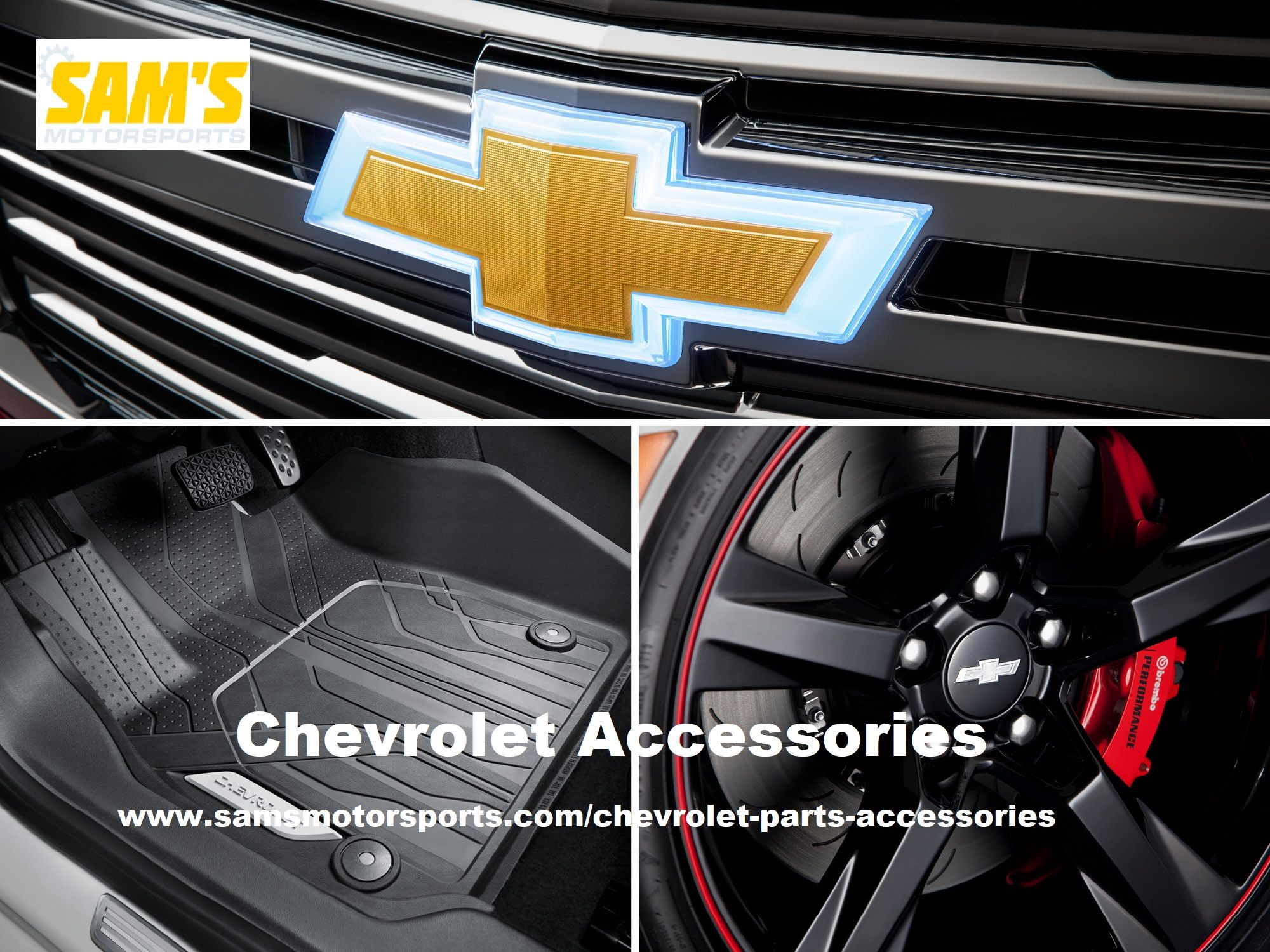 Sam S Offer Chevy Accessories Headlights Floor Mats Running Boards And Parts For Lower Prices Brow Chevy