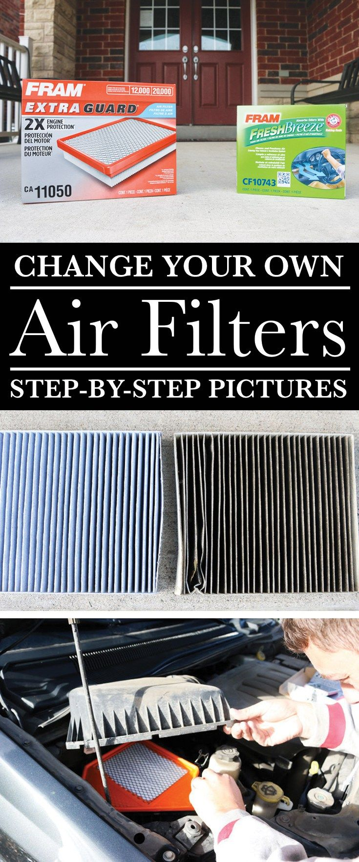 Stepbystep pictures for changing your cabin air filter