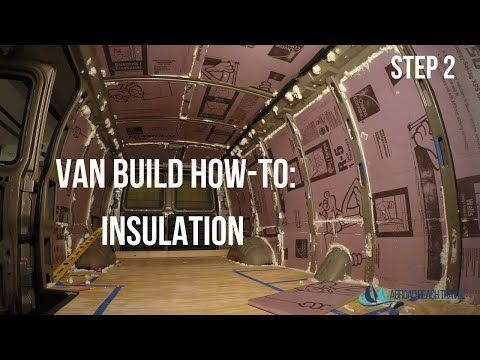 Photo of Step-by-step and video instructions for how to install van insulation for a Chev…