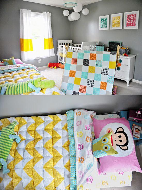 Shared Kids Bedroom Mixed Gender Neutral Gender Neutral Kids Room Neutral Kids Room Target Kids Room