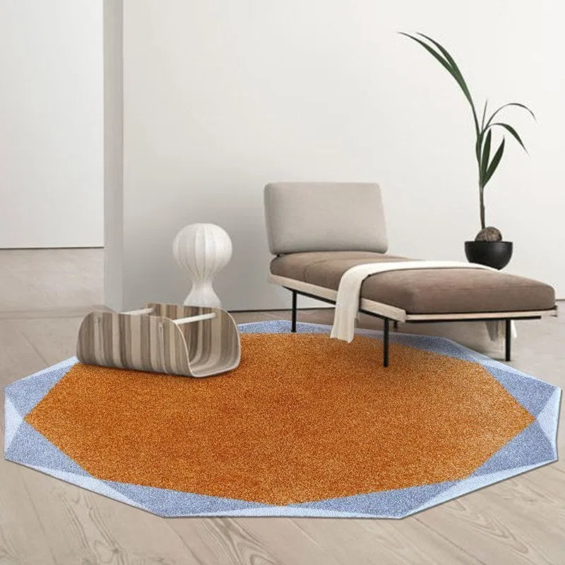 Living Room Euro Style Round Area Rug
