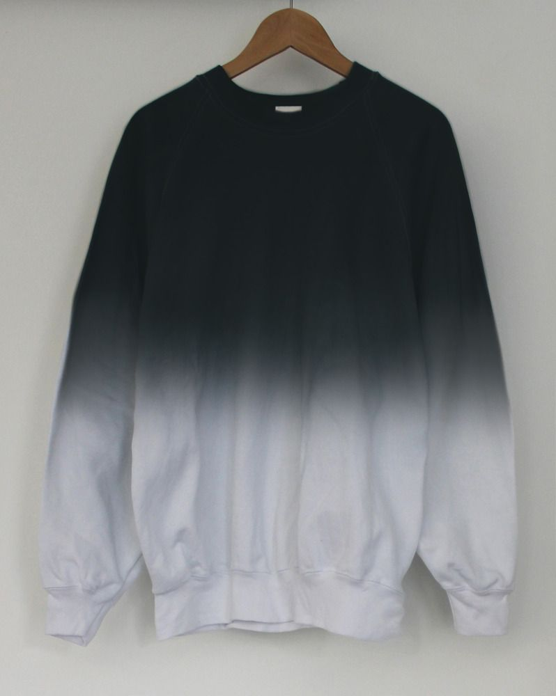 Black Midnight Dip Dye Sweater Andclothing Sweaters Limited Edition Clothing Clothes [ 1000 x 798 Pixel ]