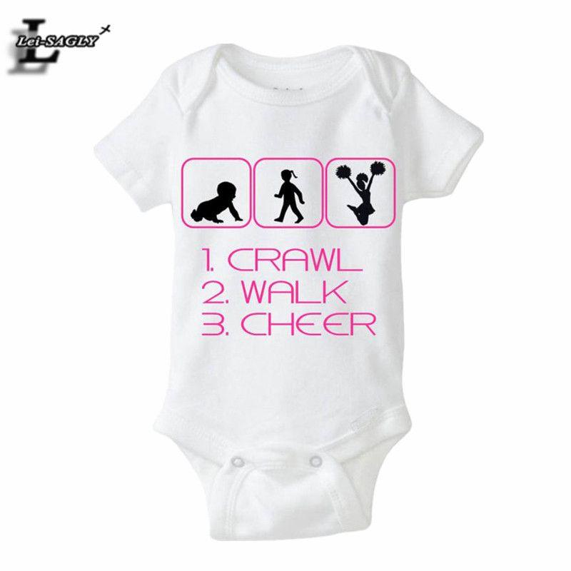 New Arriral Crawl Letter Printed Baby Clothe Infantil Costumes