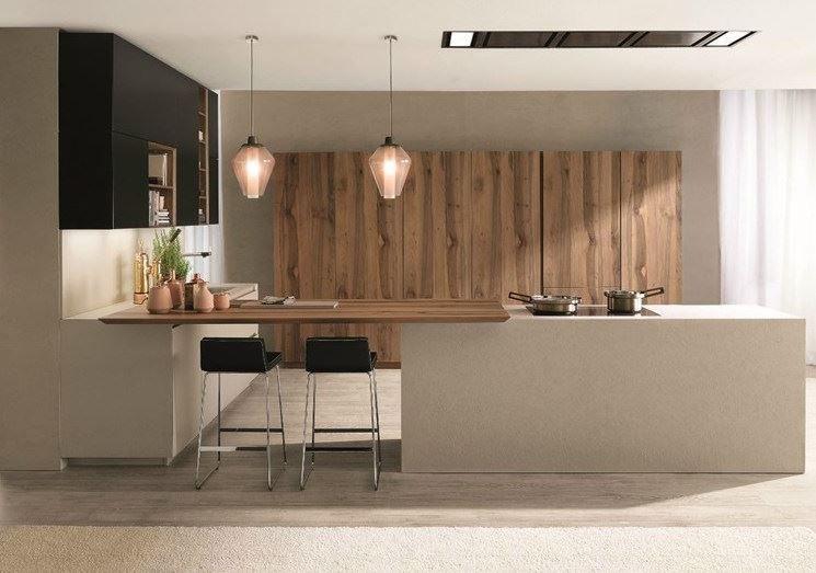 Lo stile e le forme per arredare uno spazio openspace | Kitchen ...