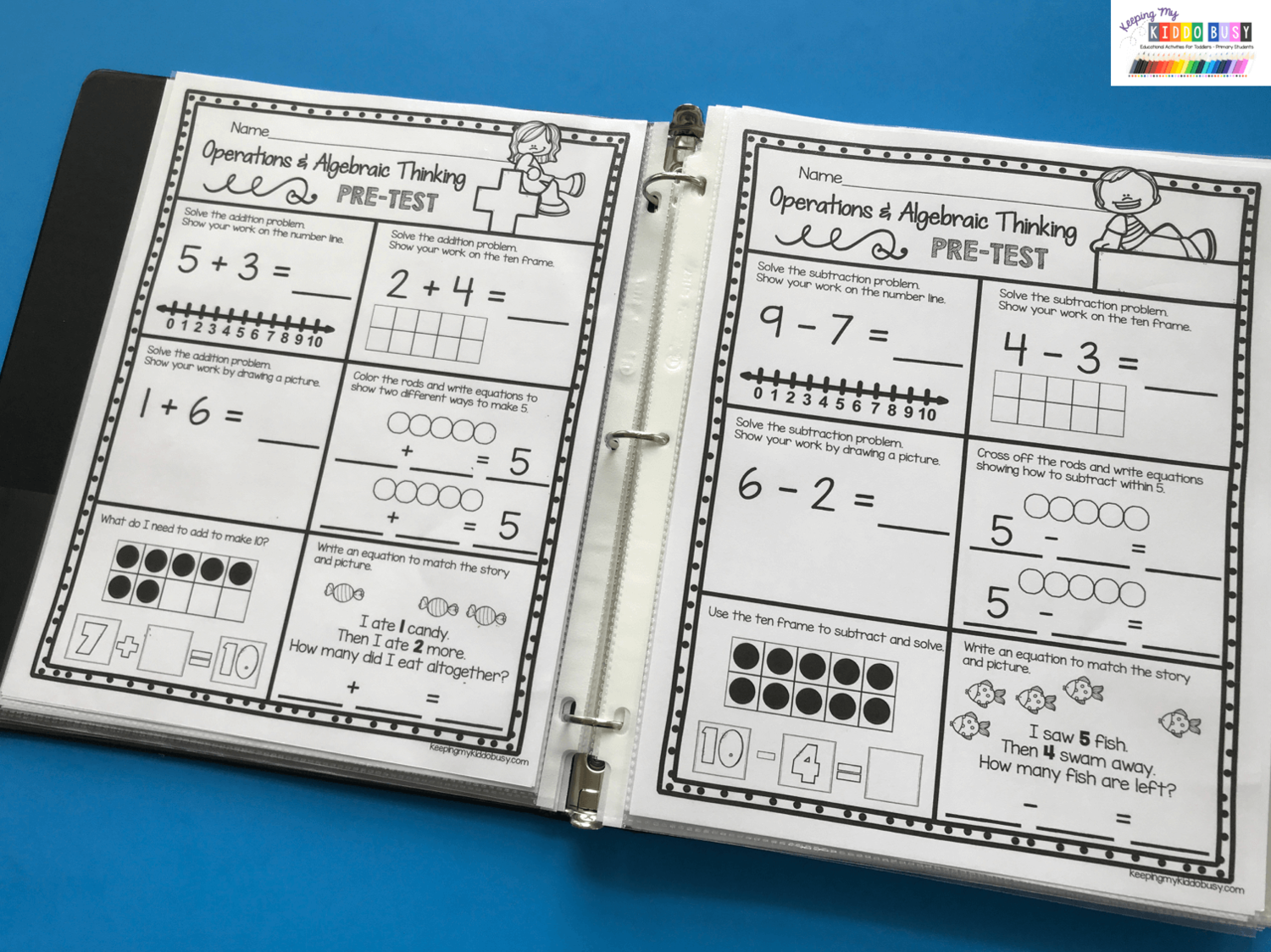 Operations Amp Algebraic Thinking Bundle