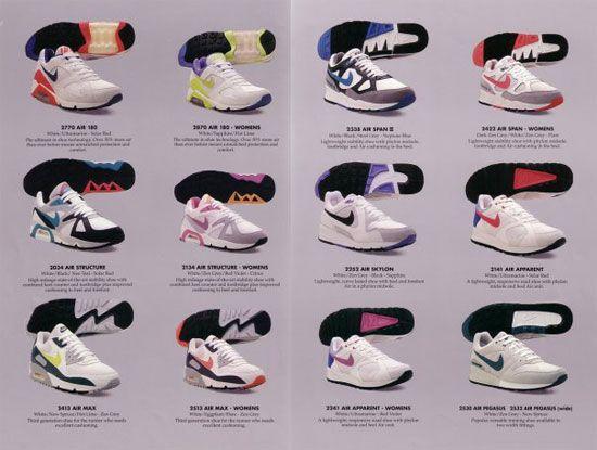 Og Runners Air Span Vintage Sneaker Ads Pinterest
