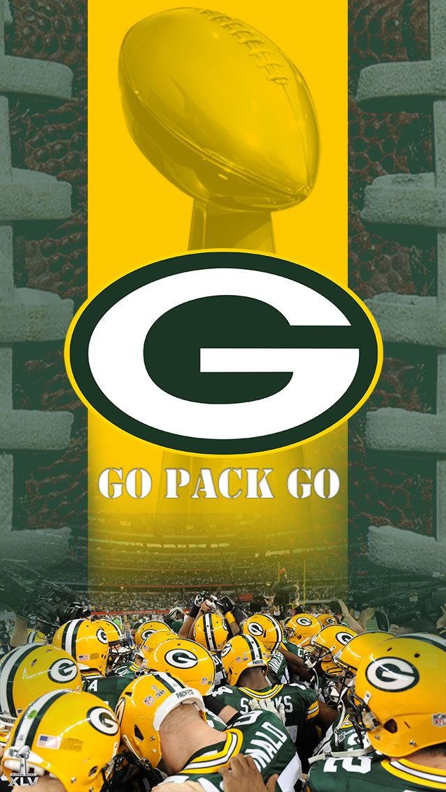 iPhone 5 Green Bay Packers Wallpaper Go Pack Go Green