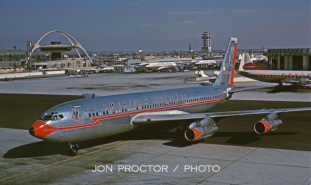 Jon Proctor » LAX Through the Years Boeing 707, Aircraft