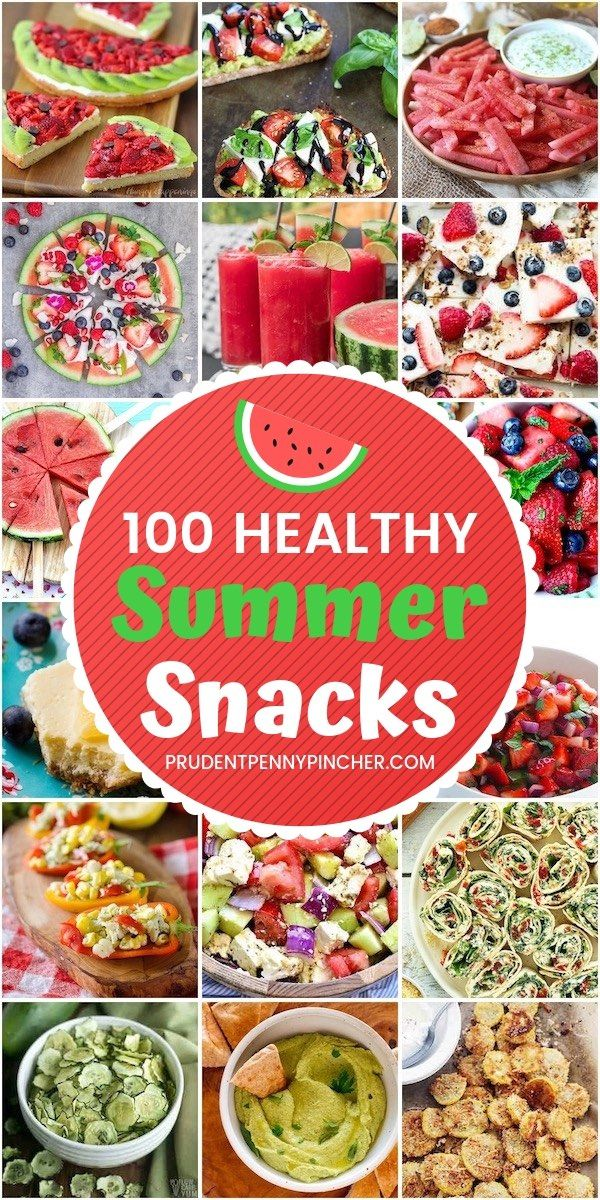 100 Healthy Summer Snacks images