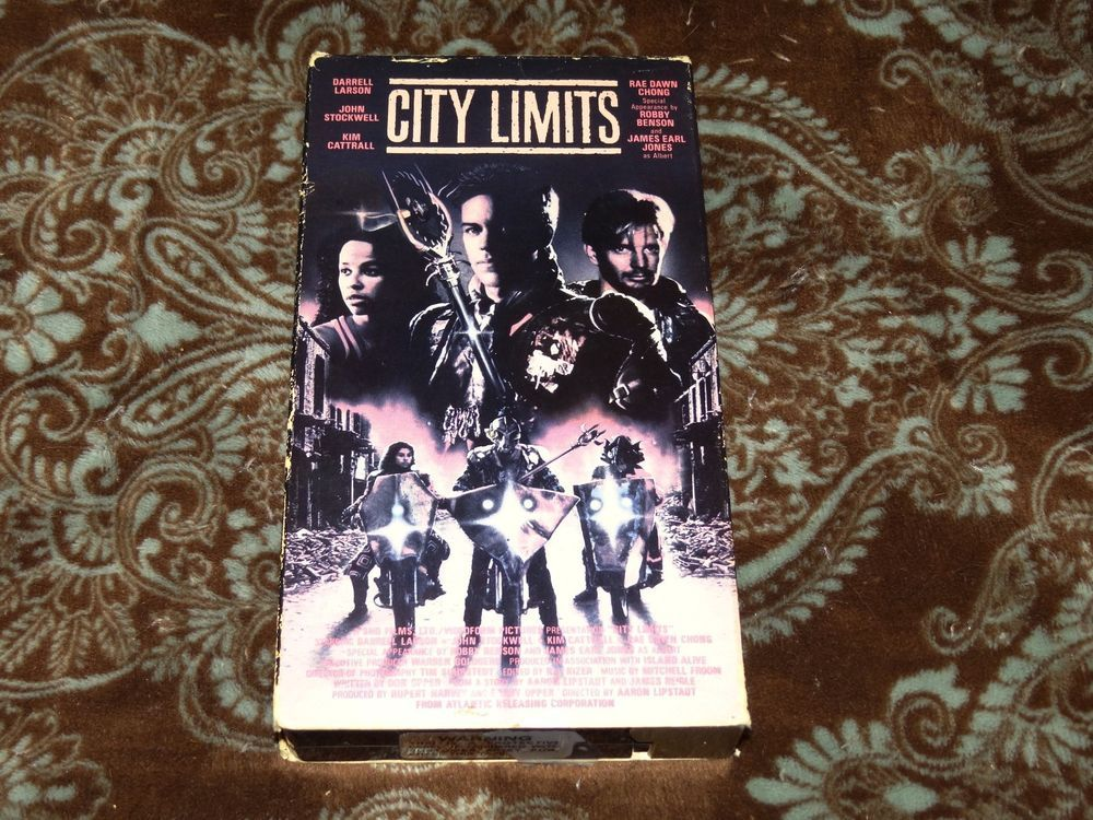City Limits (VHS, 1986) OOP 1st Vestron w/Kim Cattrall! Cult MST3K! *NOT ON DVD*