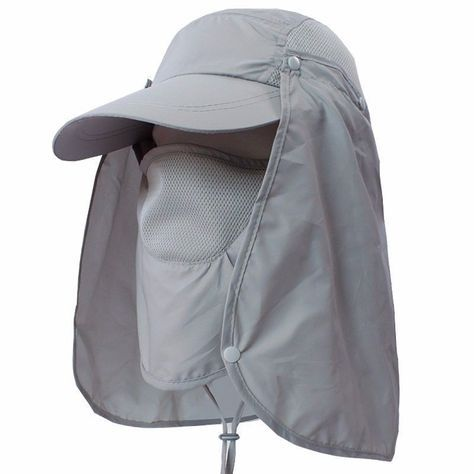Outdoor Sport Fishing Hiking Hat Uv Protection Face Neck