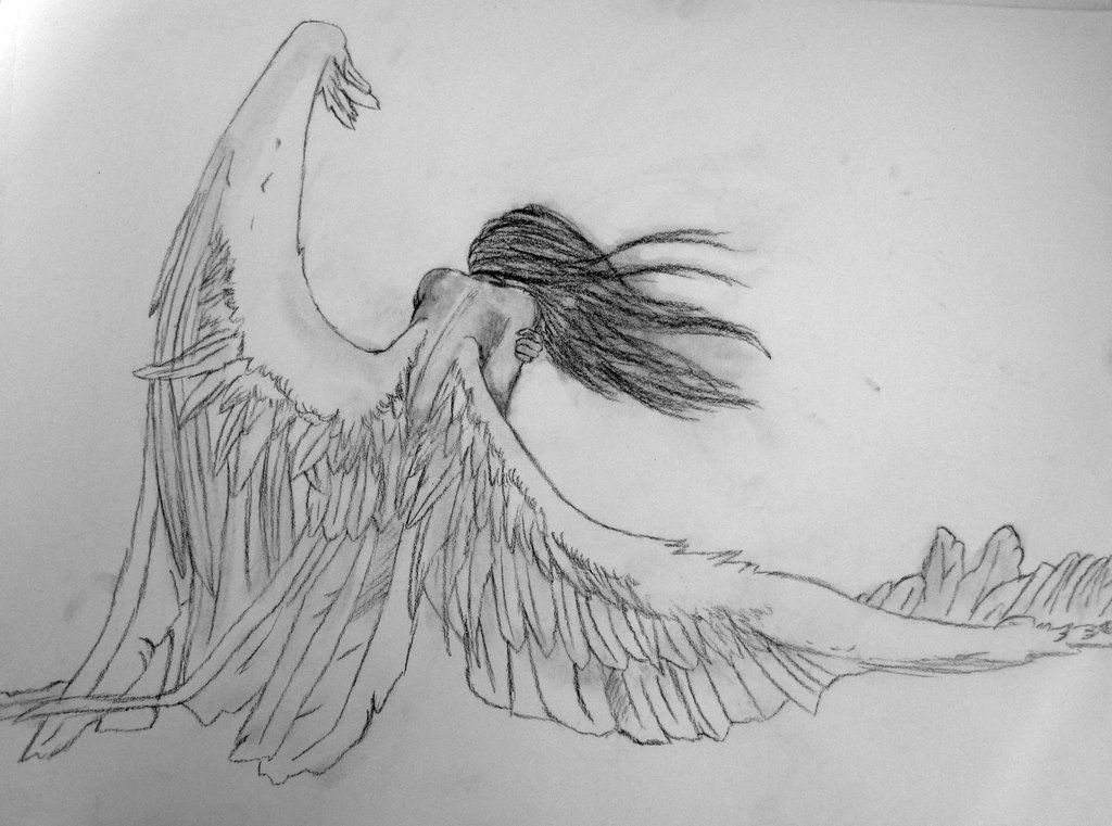 Pin by stephanie on tips for drawing pinterest angel drawing fallen angels sketching tumblr coloring pencil angel to draw nymph thecheapjerseys Gallery