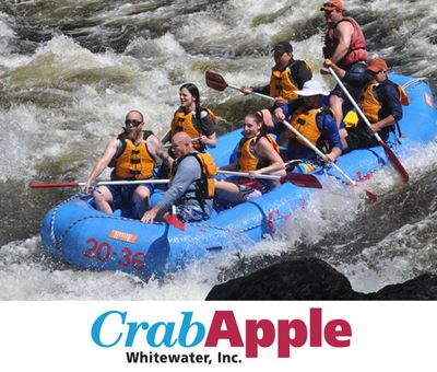 CrabApple Whitewater, Inc - Join us for a whitewater rafting