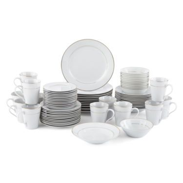 Dinnerware Set u2013 Service for 12 - JCPenney  sc 1 st  Pinterest & JCPenney Home™ Regency 72-pc. Dinnerware Set u2013 Service for 12 ...