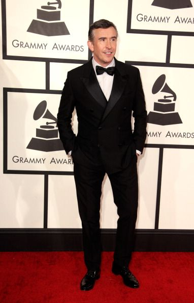 Steve Coogan at the Grammys. Styling by Ilaria Urbinati.