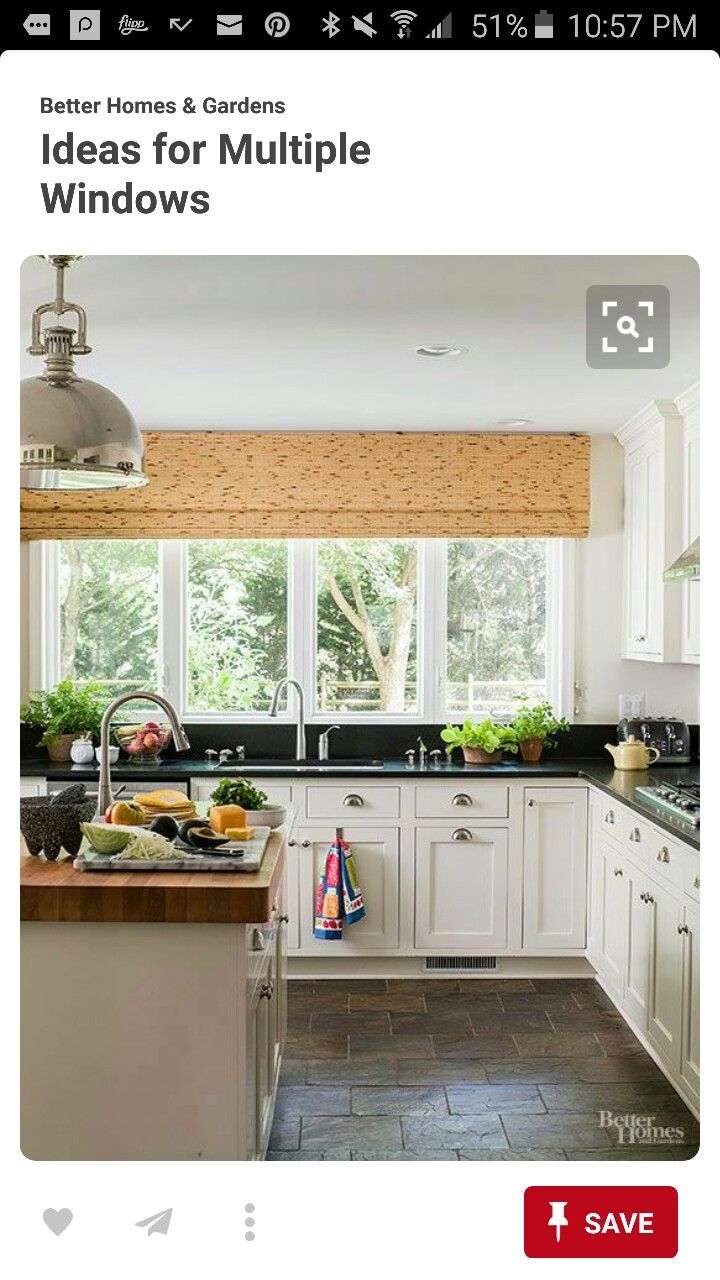Pin By Mrs Love On Home 3 Sweet 3 Home Kitchen Window Dressing Wood Kitchen Counters Home Decor Kitchen