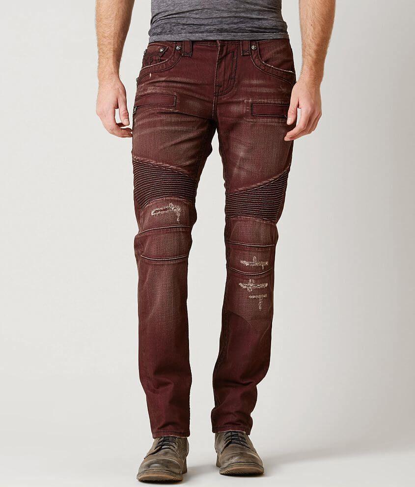 Rock Revival Men/'s Alternative Straight Fit Jean