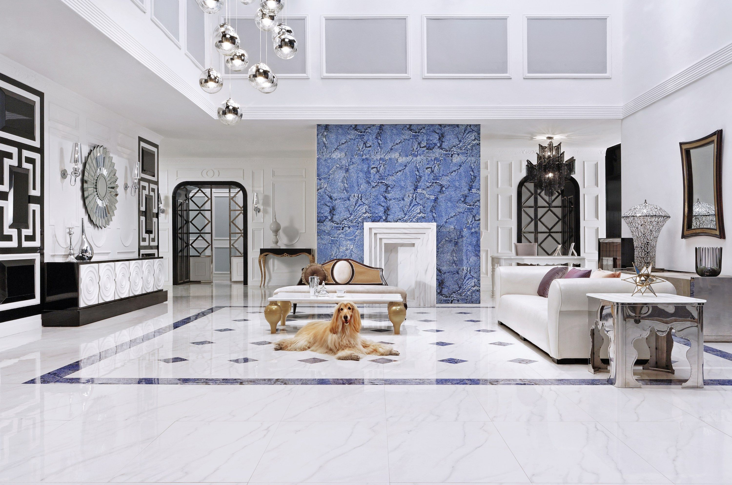 The last two months I have been spending a ton of time sourcing out tiles for a few jobs that I feel like an employee at the tile store :) One tile I have been sourcing is porcelain tile that looks like marble. I love this tile as you get the durabil...