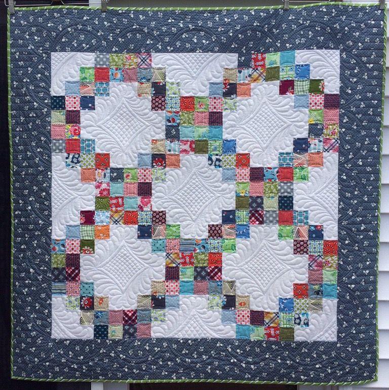 Katy quilts: Irish chain quilt | Craft/Quilting Ideas | Pinterest ... : katy quilt - Adamdwight.com