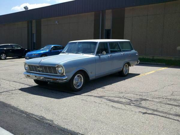 65 Nova Wagon Sweet Ride Classic Cars Chevy Chevy Wagon