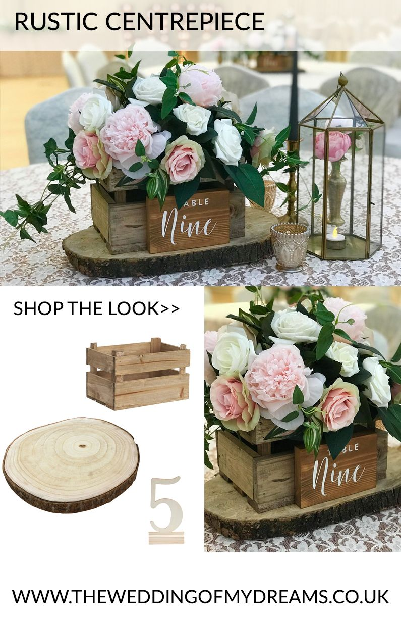Rustic wedding centrepieces wooden boxes of flowers www rustic wedding centrepieces wooden boxes of flowers theweddingofmydreams junglespirit Choice Image