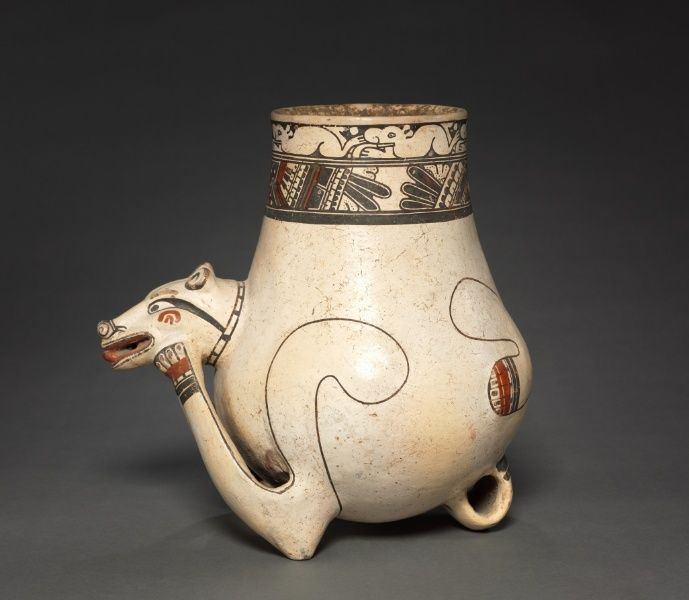 Animal Effigy Vessel, 1000-1550 Costa Rica, Southern Nicoya region, Pataky Polychrome style, 11th-16th century