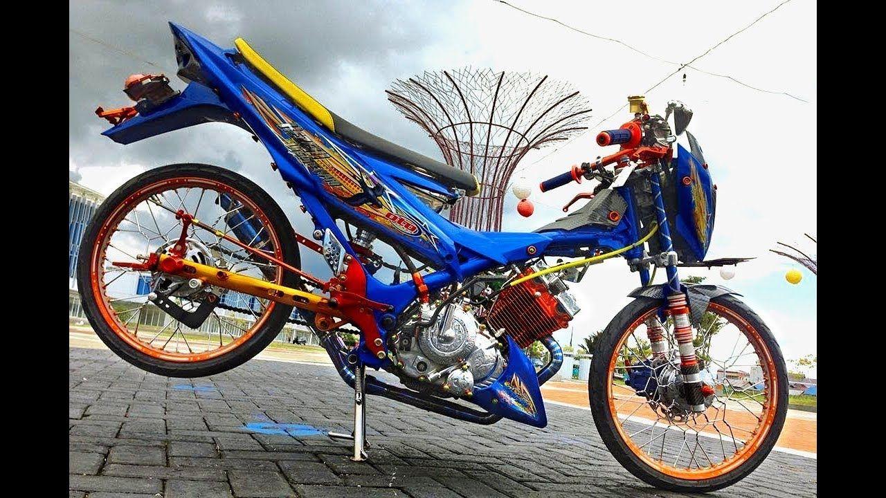 Modifikasi Satria Fu 150cc Jari Jari Dan Biaya Terjangkau