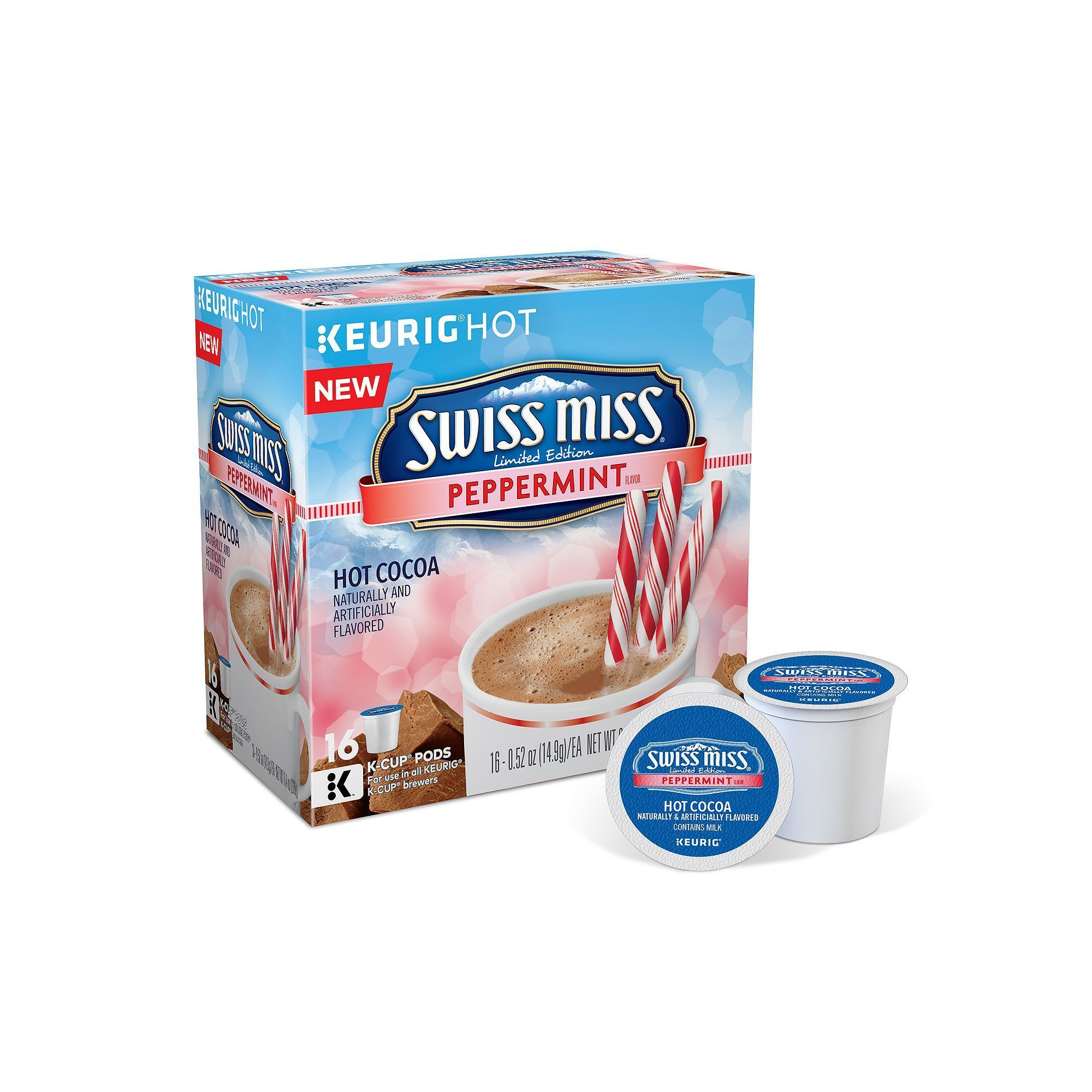 Keurig® KCup® Pod Swiss Miss Limited Edition Peppermint