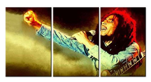 Elmmanuelgift Canvas Wall Art canvas print pop art Bob Marley 2 ...