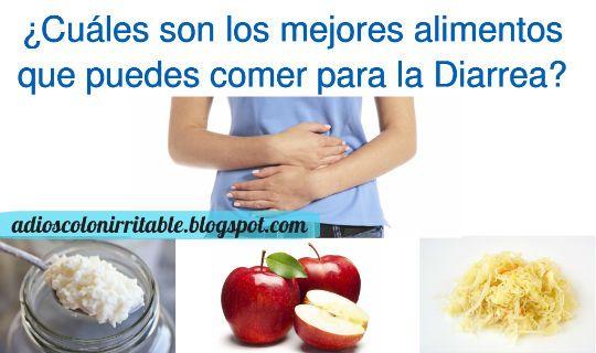 Qu alimentos puedes comer para acabar con la diarrea adi s colon irritable remedios - Alimentos para evitar la diarrea ...