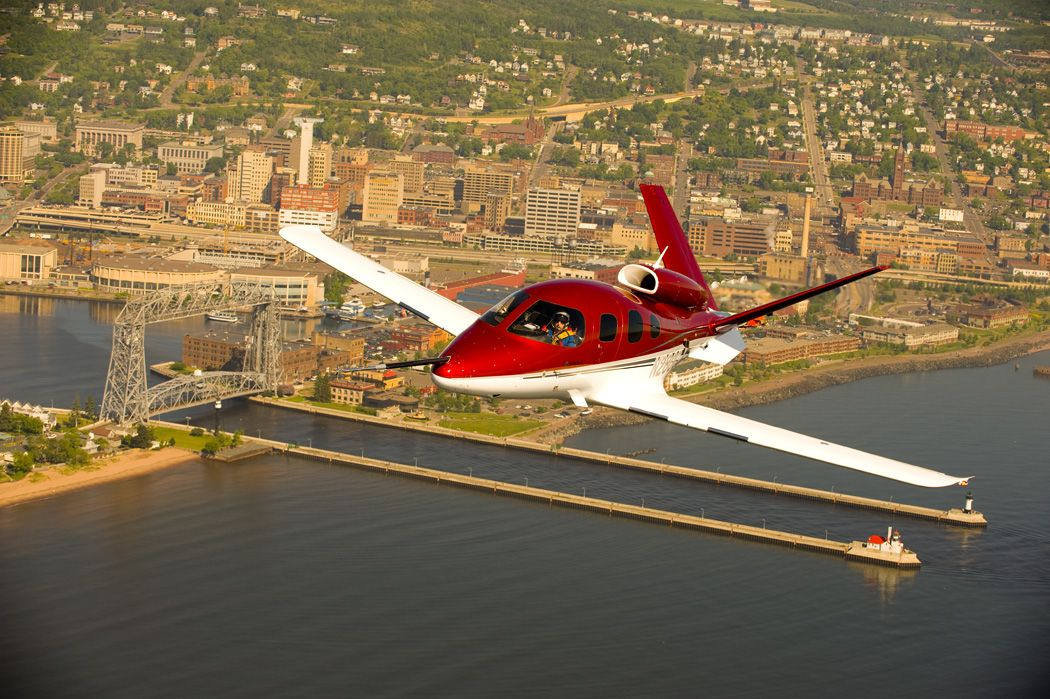 Cirrus single pilot personal jet Aircraft, Airplane for