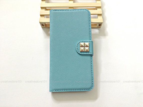 Rivet stud wallet case, iphone 6 iphone 6 plus rivet stud wallet case, iphone 5 5s iphone 4 4s rivet stud wallet case #004