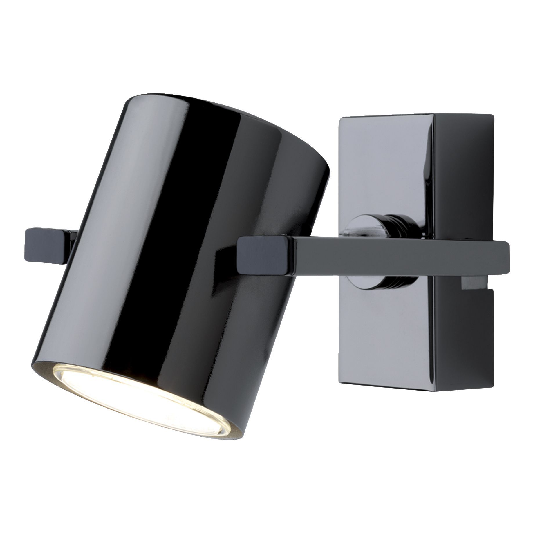 Theatre black nickel effect spotlight ceiling spotlights halogen theatre black nickel effect spotlight departments diy at bq mozeypictures Images