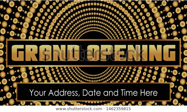 Grand Opening Vector Background Banner Backdrop Stock Vector Royalty Free 1462359815 Banner Backdrop Background Banner Vector Background