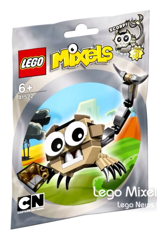 *NEW SEALED* LEGO MIXELS Series 4 Nurp-Naut 41529 Cartoon building creatures