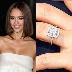 Pin On Celebrities Engagement Rings
