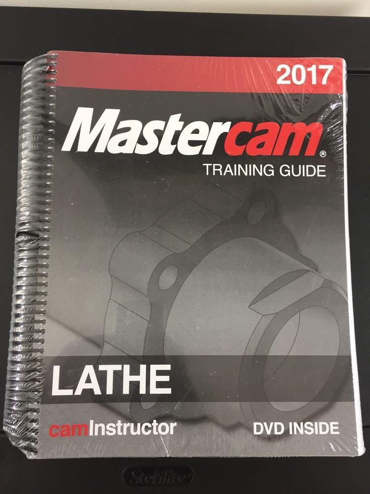 2017 mastercam training guide lathe cam instructor dvd included rh pinterest com