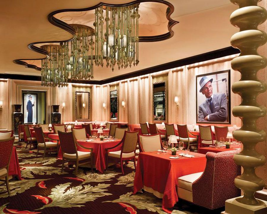 Italian Restaurant Interior Design Luxury Of Sinatra Las Vegas Main