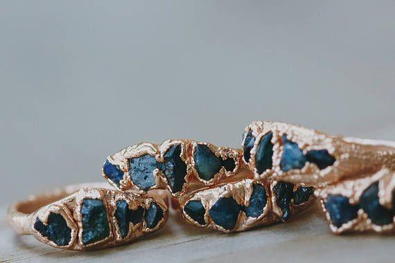 September Birthstone Ring: sapphire rose gouden belofte ring