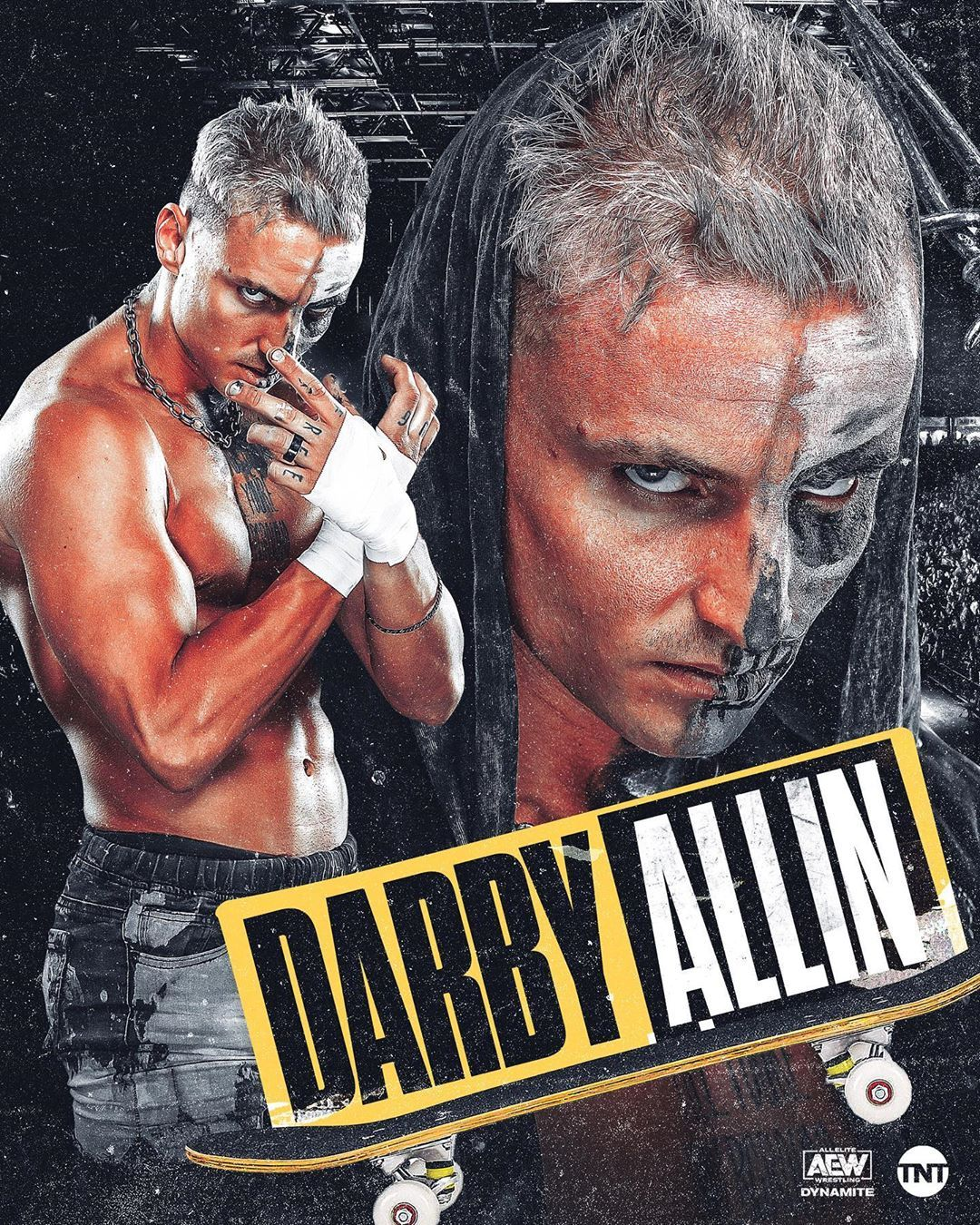 Aew On Tnt On Instagram 𝓡𝓮𝓵𝓮𝓷𝓽𝓵𝓮𝓼𝓼 Can Darbyallin Rise To The Challenge Tonight On Dynamite Wrestling Stars Wrestling Posters Pro Wrestling