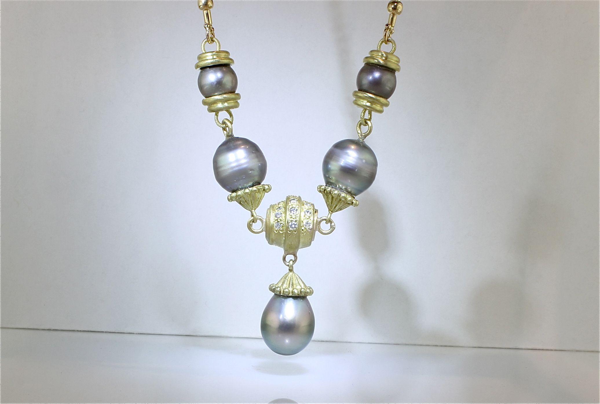 A unique creation #unique #necklace #creation #different #chateau #jewelry