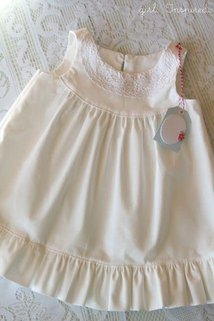 Bebé Canastilla - Vestidos - La chica. Inspirado.