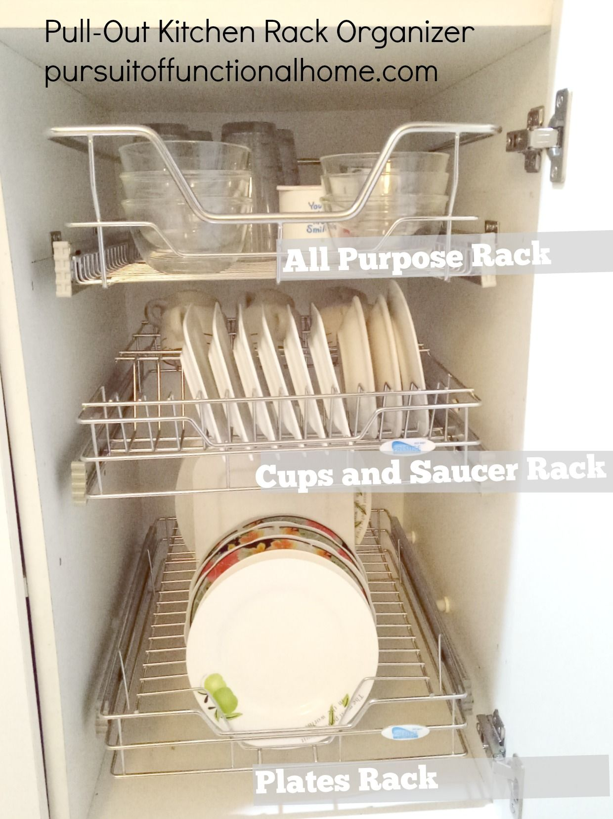 Pull out Kitchen Wire Rack | House & Home | Pinterest | Wire racks ...