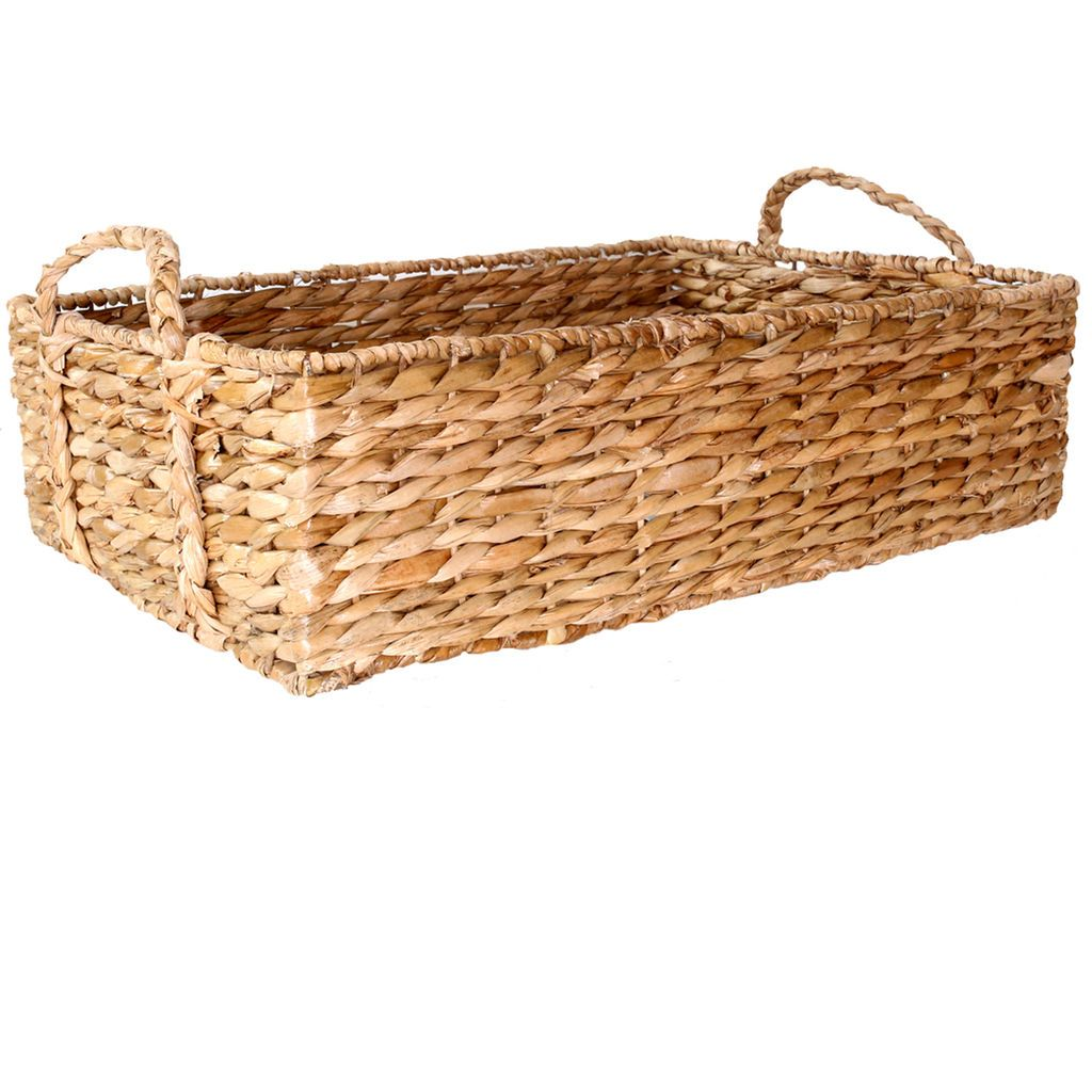 Home underbed storage baskets wicker underbed storage basket - House Get Organized A Basket Is Great For Storing Attire Accessories Craft Supplies Underbed Storage Drawersstorage Basketsoffice