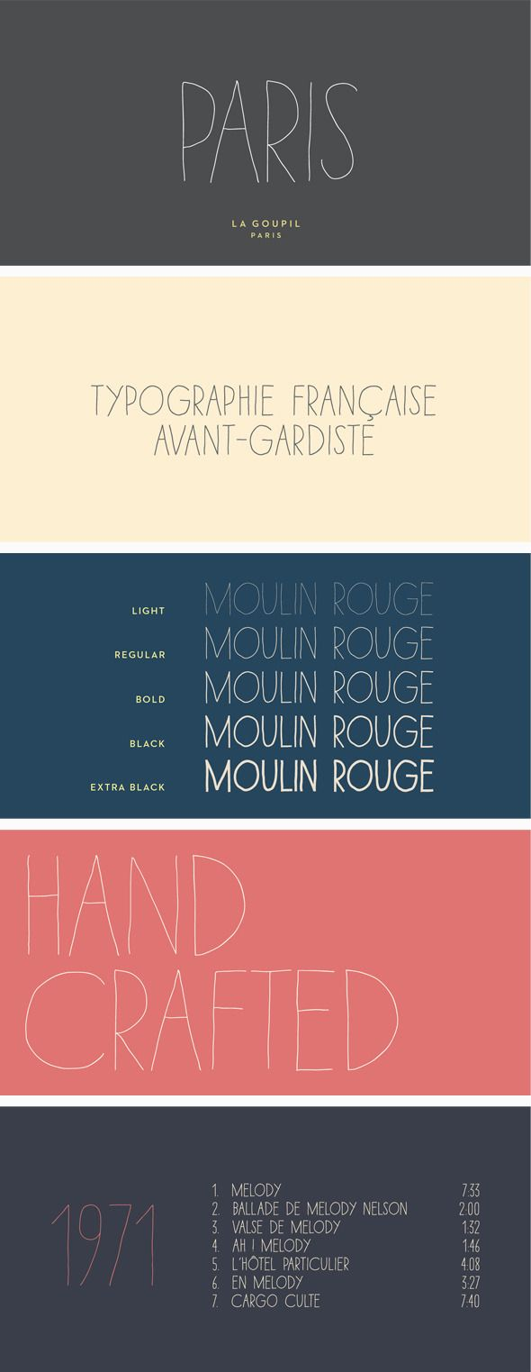 Download Paris Font Pack (With images) | Font packs, Professional ...