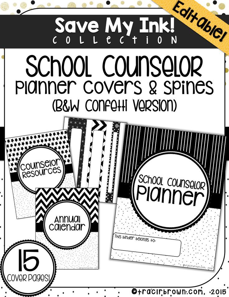 Here is a great tool to help jazz up your school counselor