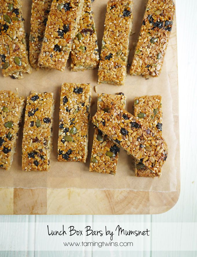 Lunch box bars by mumsnet recipe lunch box book review and bananas lunch box bars by mumsnet forumfinder Image collections