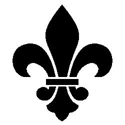 black fleur de lis clip art free clip art freebordersandclipart rh pinterest com au fleur de lis clipart fleur de lis clip art free