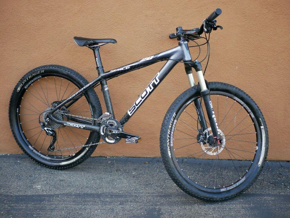 Sponsored Ebay Scott Scale 20 Carbon Fiber Mountain Bike Medium